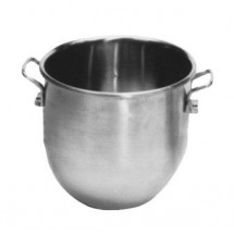 Johnson Rose 7230 Stainless Steel 30 Qt. Mixing Machine Bowl for Hobart Mixers
