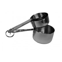 Johnson Rose 7331 Stainless Steel 4-Piece Measuring Cup Set