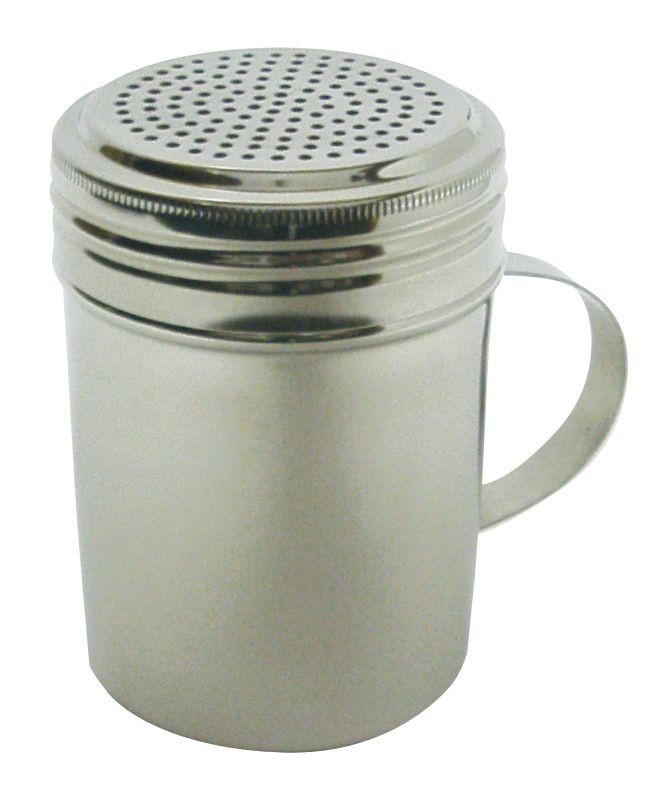 Johnson Rose 7471 Stainless Steel Twist Top Dredger With Handle 10 oz.