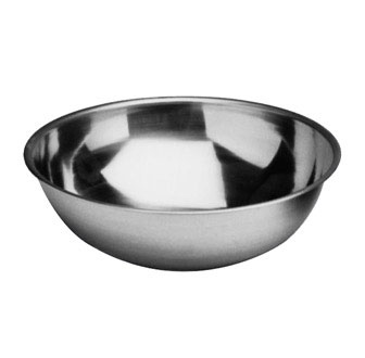 Johnson Rose 7535 Heavy Duty Stainless Steel Mixing Bowl 5 Qt.