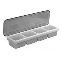 Johnson Rose 7790 4-Compartment Bar Caddy
