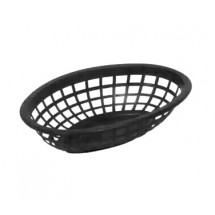 Johnson Rose 80711 Black Oval Side Order Basket