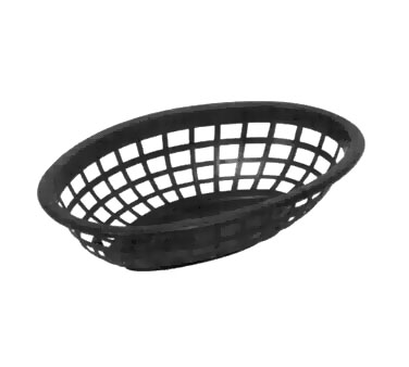 Johnson Rose 80712 Red Oval Side Order Basket