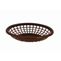 Johnson Rose 80713 Brown Oval Side Order Basket