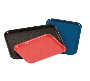 "Johnson Rose 88144 18"" X 14"" Textured Fast Food Tray"