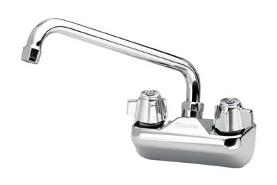 Krowne 10-410 Splash-Mount  Heavy Duty Faucet with 4