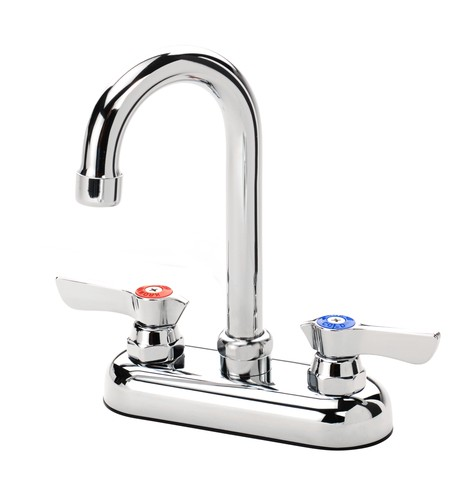 Krowne 11-400 Deck Mount Heavy Duty Faucet with 4