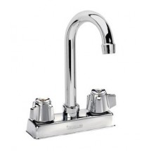 Krowne 11-400L Gooseneck Low Lead Heavy Duty Faucet with 4