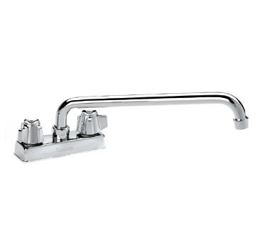 Krowne 11-412 Deck Mount Heavy Duty Faucet with 4