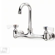 Krowne 12-802 Splash Mount Heavy Duty Faucet with 8