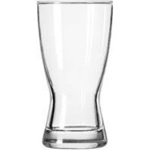 Libbey 1176HT Heat Treated Hourglass Pilsner Glass 9 oz. - 3 doz