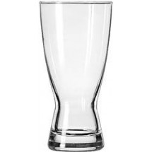Libbey 1183HT Heat Treated Hourglass Pilsner Glass 15 oz. - 3 doz