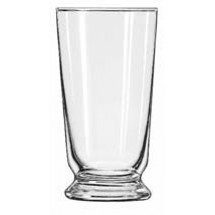 Libbey 1451HT Heat Treated Footed Malted Glass 10 oz. - 3 doz