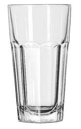 Libbey 15256 Gibraltar DuraTuff Tall Cooler Glass 16 oz. - 2 doz