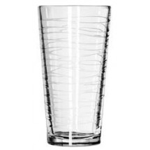 Libbey 15646 Waves DuraTuff Casual Cooler Glass 20 oz. - 1 doz