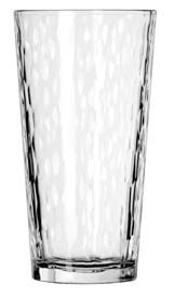 Libbey 15648 Casual Cooler Hammered Beverage Glass 20 oz. - 1 doz