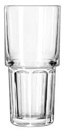 Libbey 15651 Gibraltar DuraTuff Stackable Cooler Glass 16 oz. - 3 doz