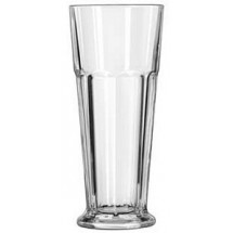 Libbey 15673 Gibraltar DuraTuff Footed Pilsner Glass 16.75 oz. - 1 doz