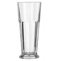 Libbey 15680 Gibraltar DuraTuff Footed Pilsner Glass 12 oz. - 2 doz
