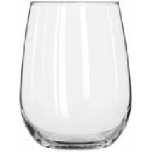 Libbey 221 Stemless White Wine Glass 17 oz. - 1 doz
