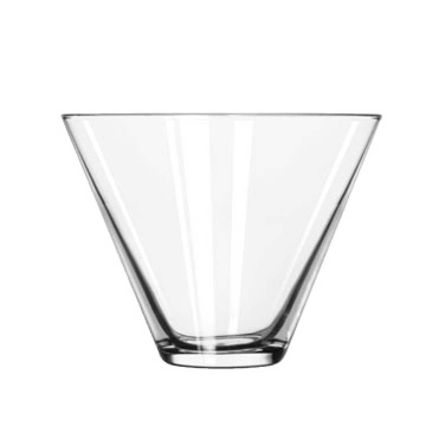 Libbey 224 Stemless Martini Glass 13.5 oz. - 1 doz