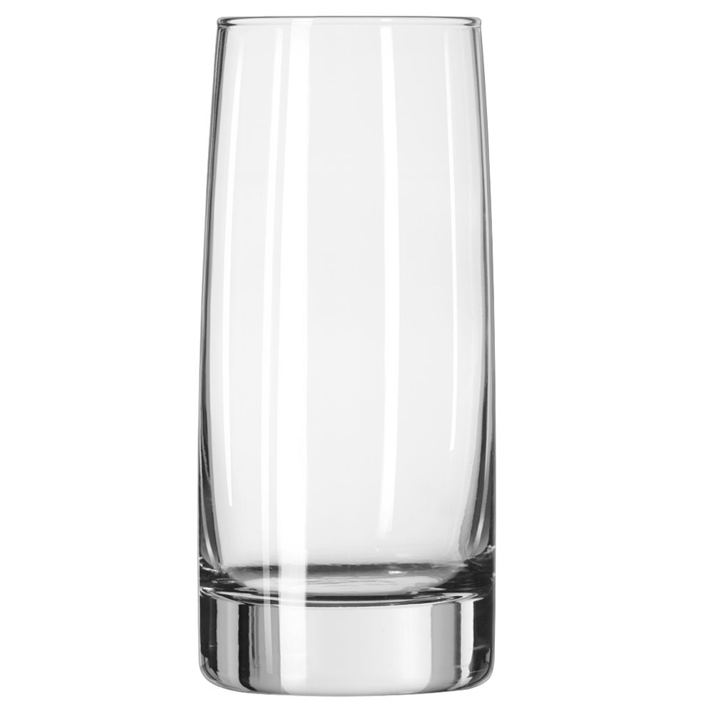 Libbey 2312 Clear Vibe Cooler Glass 17.5 oz. - 1 doz
