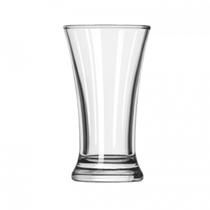 Libbey 243 Flare Shooter Glass 2.5 oz. - 2 doz