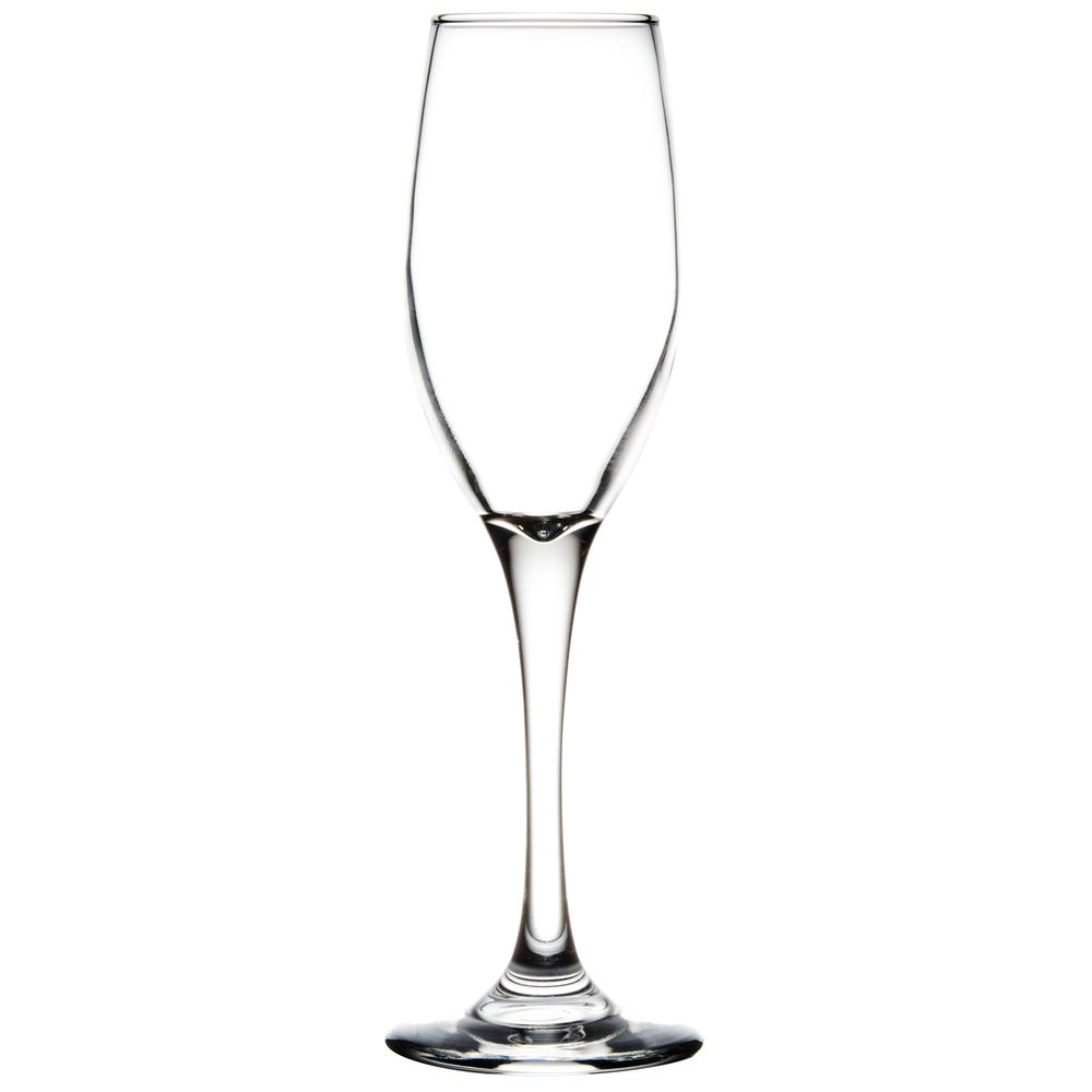 Libbey 3096 Perception Flute Glass 5.75 oz. - 1 doz