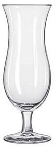 Libbey 3617 Cyclone Hurricane Glass 15 oz. - 1 doz