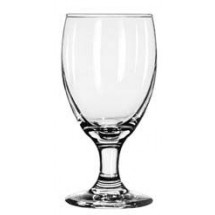 Libbey 3721 Embassy Royale Banquet Goblet Glass 10.5 oz. - 3 doz