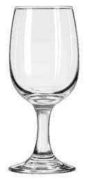 Libbey 3765 Embassy White Wine Glass 8.5 oz. - 2 doz