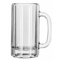 Libbey 5016 Paneled Beer Mug 12 oz. - 1 doz