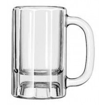 Libbey 5019 Paneled Beer Mug 10 oz. - 1 doz