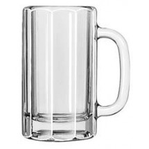 Libbey 5020 Paneled Beer Mug 16 oz. - 1 doz