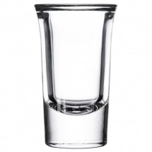 Libbey 5033 Tall Whiskey / Shot Glass with .96 oz. Cap Line - 6 doz