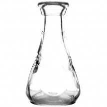 "Libbey 5058 Glass Bud Vase / Pinch Decanter 3-1/2"" - 12 doz"