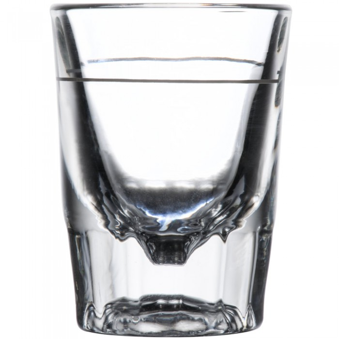 Libbey 5126/A0007 Lined Fluted Whiskey. / Shot Glass 2 oz. - 4 doz