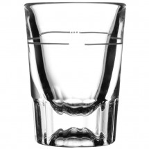 Libbey-5127-S0711-Fluted-Whiskey---Shot-Glass-1-5-oz--with-7-8-oz--Cap-Line---4-doz