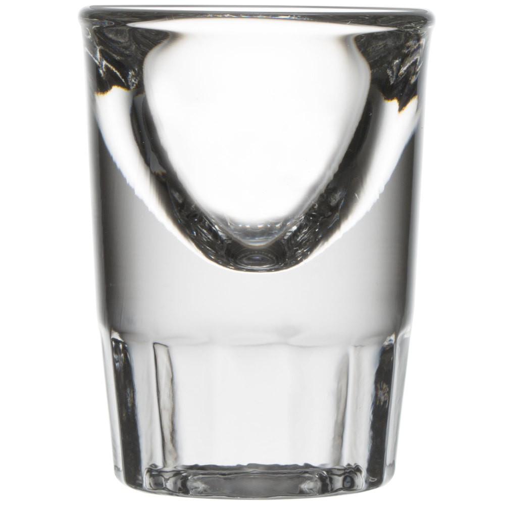 Libbey 5138 Tall Whiskey Shot Glass 1 oz. - 4 doz