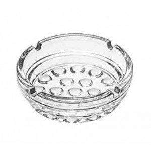Libbey 5154 Nob Hill Glass Ashtray 4 - 3 doz