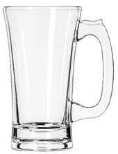 Libbey 5202 Flared Beer Mug 10 oz. - 2 doz