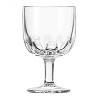 Libbey 5210 Hoffman House Goblet Glass 10 oz. - 1 doz