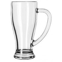 Libbey 5286 Clear Glass Cafe Mug 14 oz. - 1 doz
