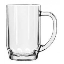 Libbey 5303 Thumbprint Beer Stein 19.5 oz. - 2 doz