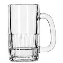 Libbey 5309 Handled Beer Mug 12 oz. - 2 doz