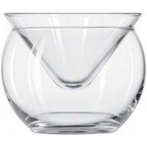 Libbey 70855 Metropolis Martini Chiller Glass 5.75 oz. - 1 doz