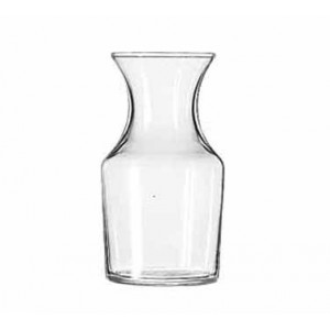 Libbey 719 Glass Cocktail Decanter / Bud Vase 8.5 oz. - 3 doz