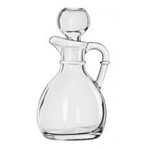 Libbey 75305 Cruet with Stopper 6 oz. - 1 doz
