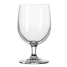 Libbey 8556SR Bristol Valley Goblet Glass with Sheer Rim 12 oz. - 2 doz