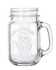Libbey 97085 County Fair Drinking Jar 16.5 oz. - 1 doz